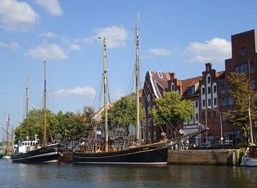 Wakenitz boat Quandt in Lubeck